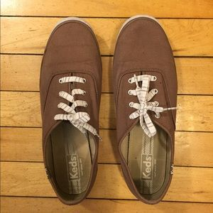 Brown Keds Women's 10